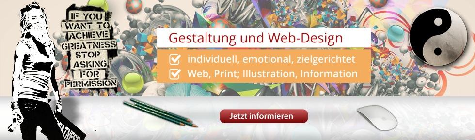 Gestaltung und Websdesign